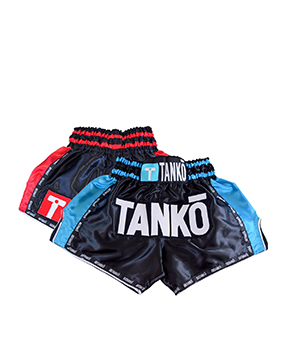 Tanko thai boxing shorts red and blue